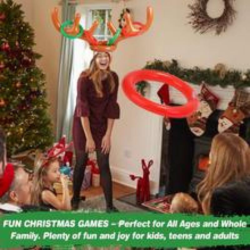 Reindeer Antler Ring Toss Game-CHRISTMAS SALE