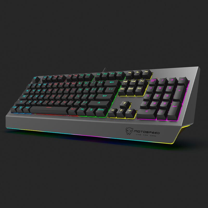 MOTOSPEED CK99 RGB Mechanical Keyboard All Key Anti-ghost 12 Lighting Effects