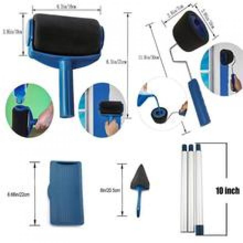 (Factory Outlet)  Multifunctional Paint Roller PRO Kit