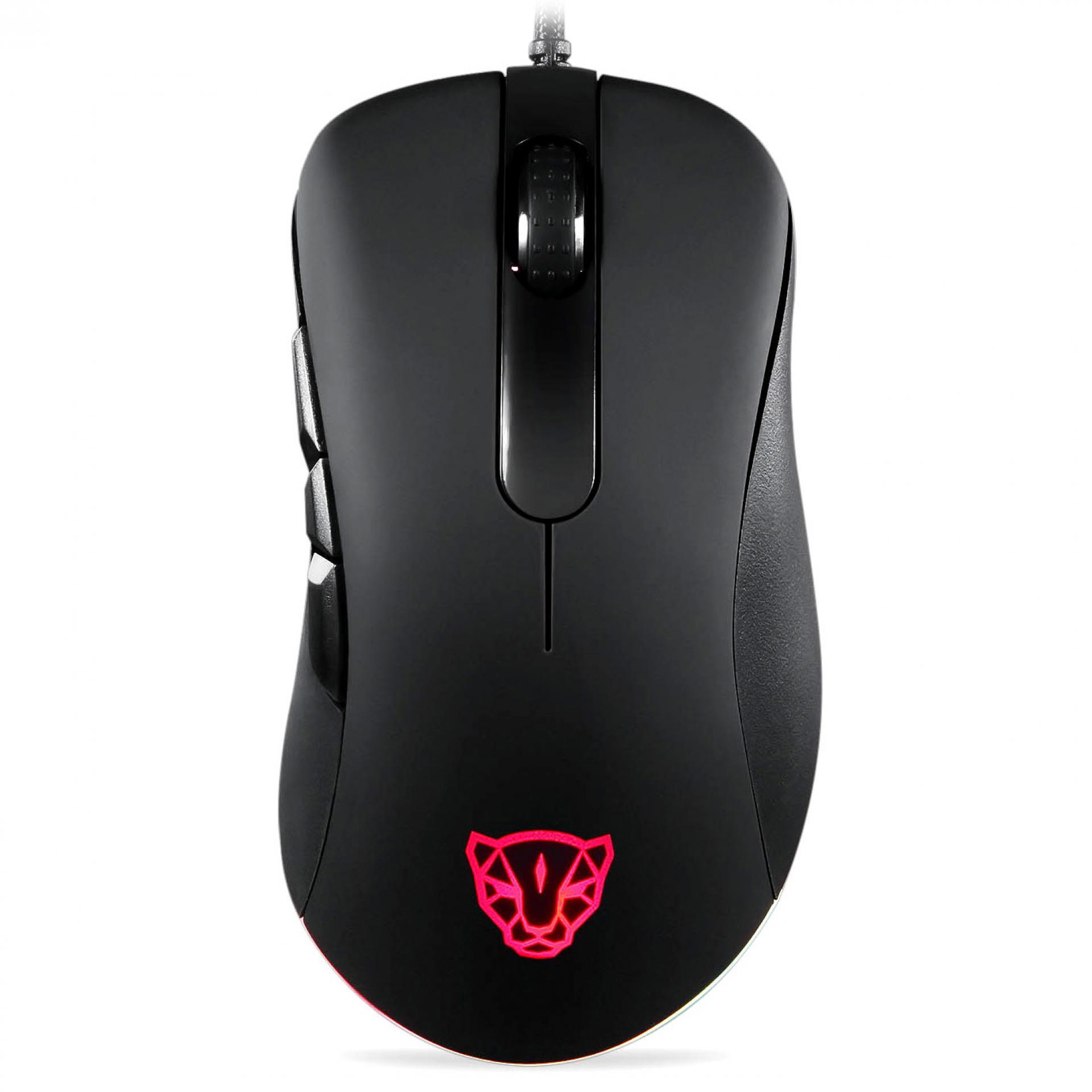 MOTOSPEED V100 Dual Engine RGB Gaming Mouse Original 6400 Infrared Light