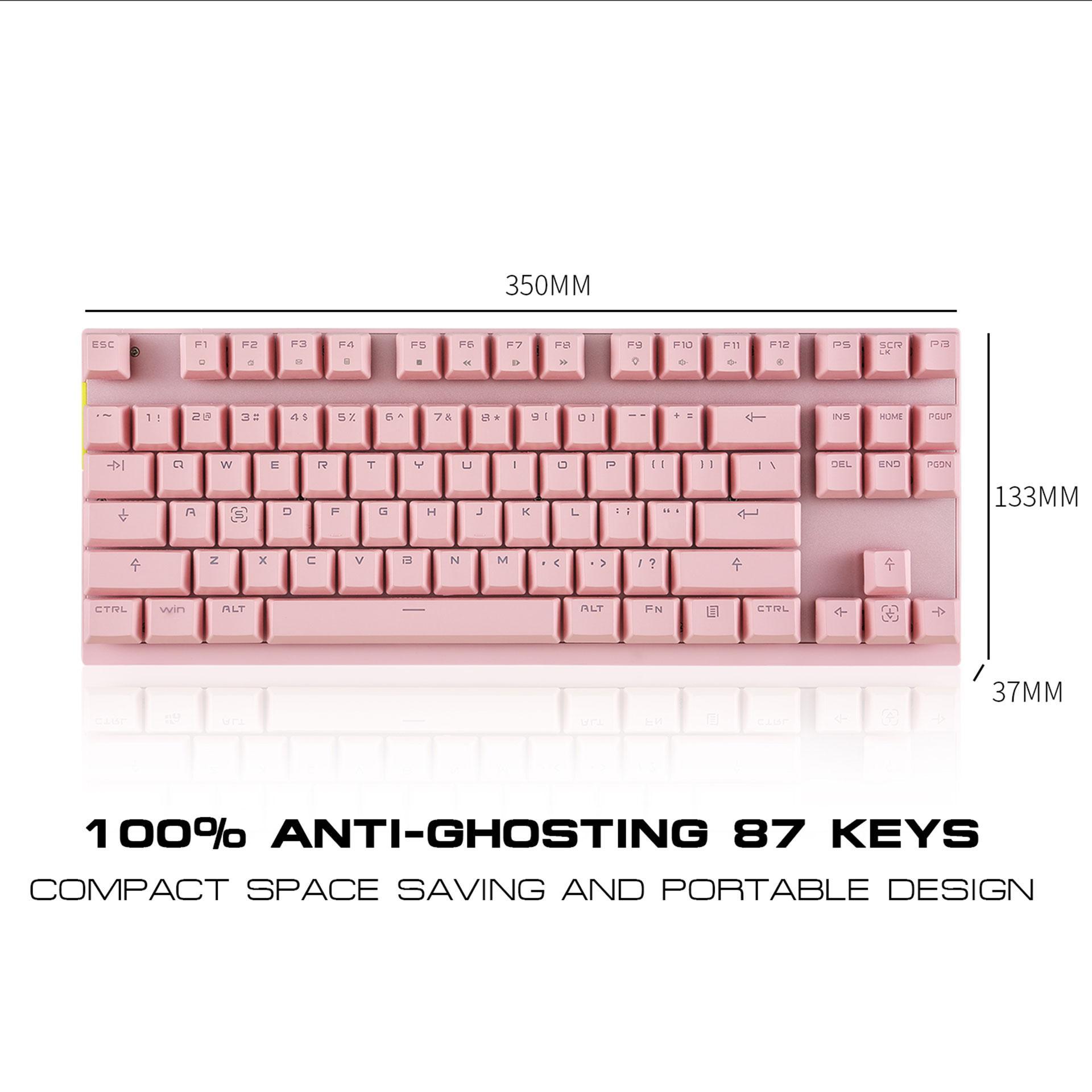 Motospeed GK82 87 Key Wireless Mechanical Keyboard