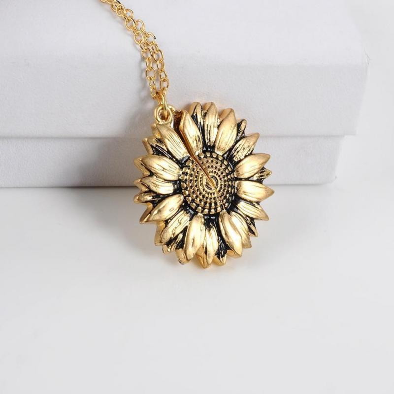"""Limited Release: """"You Are My Sunshine"""" Sunflower Necklace"""