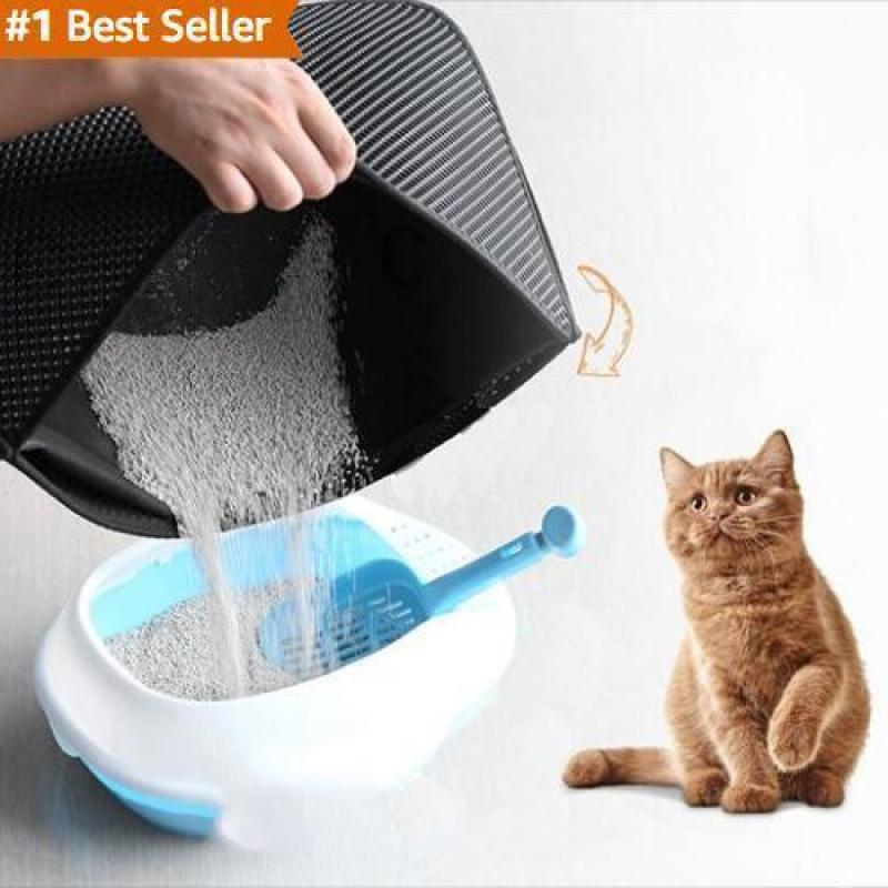 Arelia Pro New Double Layer Larger Size Cat Litter Mat