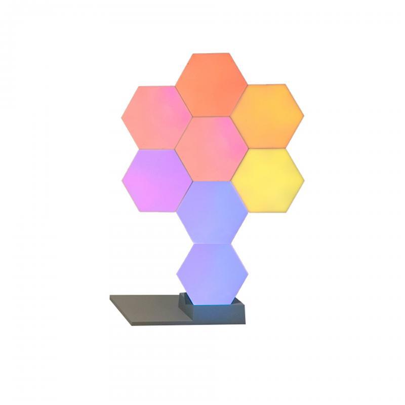 Lifesmart LS160 Creative Geometry Assembly Intelligent Control Panel Light-8Set