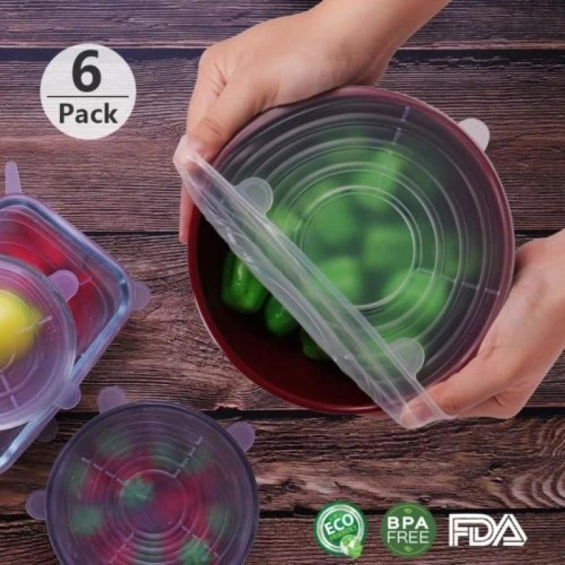 Silicone Storage Covers C Set of 6