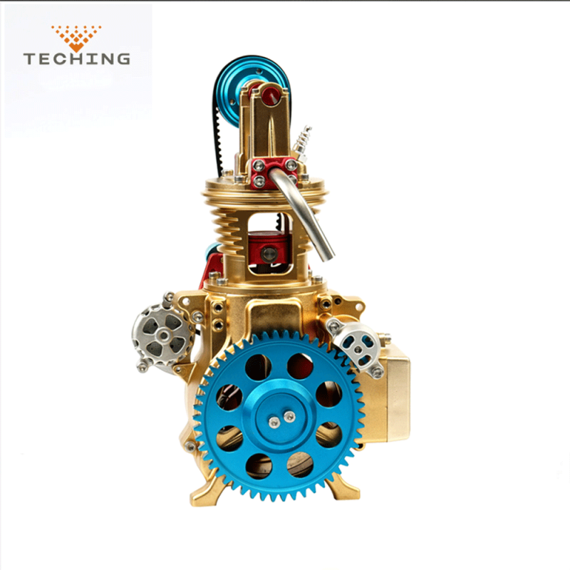 Teching DM17 Single Cylinder Engine Model Full Aluminum Alloy Collection
