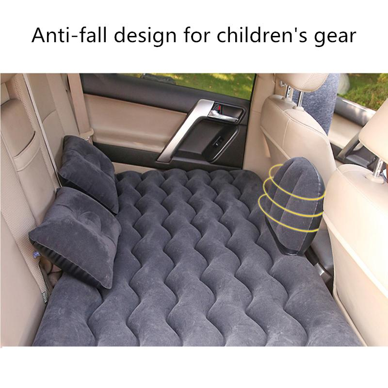 Automobile inflatable mattress