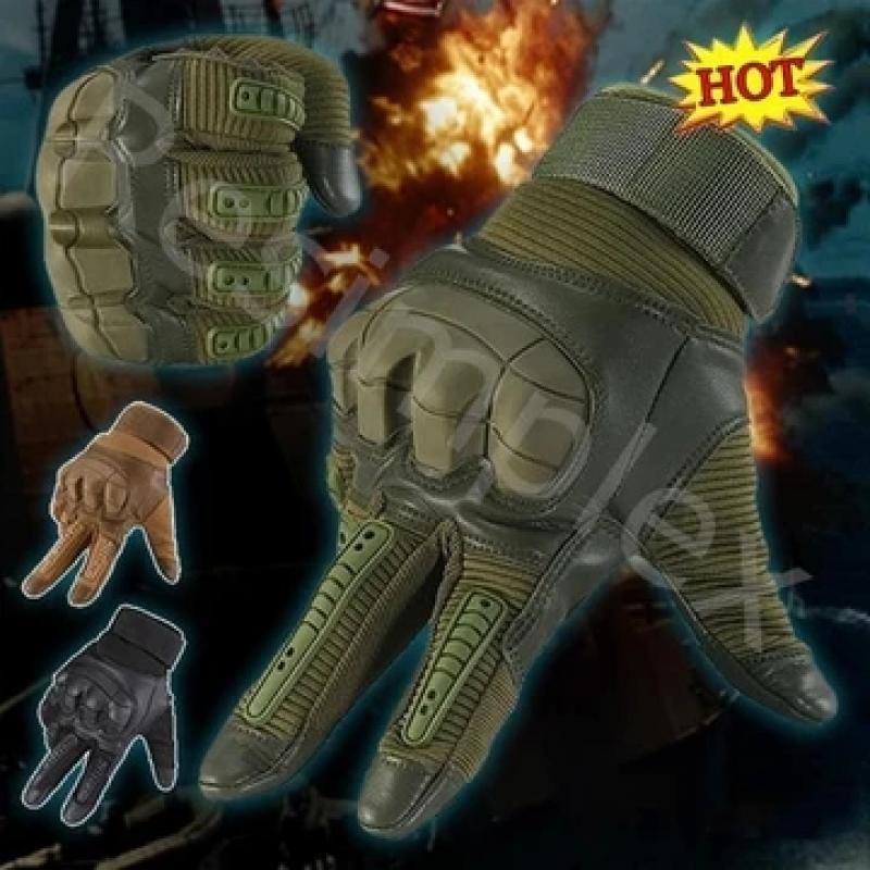 Military Full Finger Tactical Gloves
