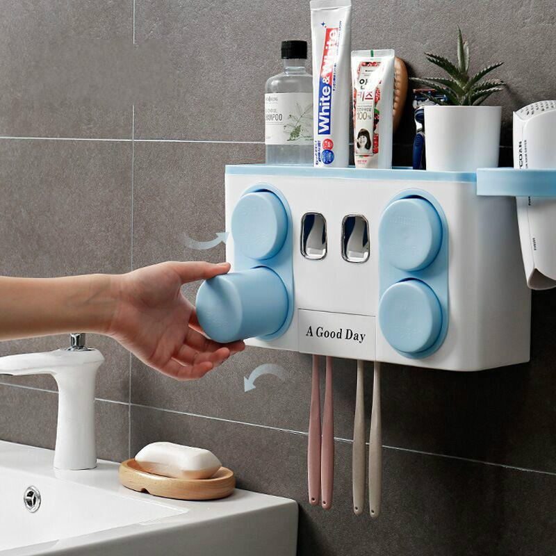 Wall-mounted Automatic Toothpaste Dispenser