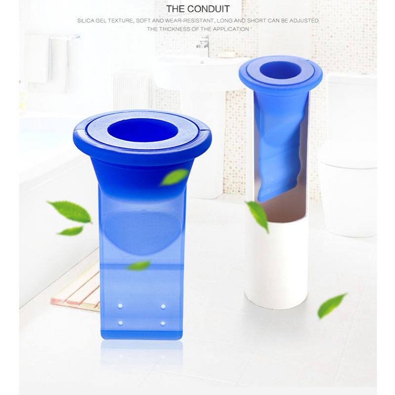 Bathroom Odor-proof Leak Core Silicone