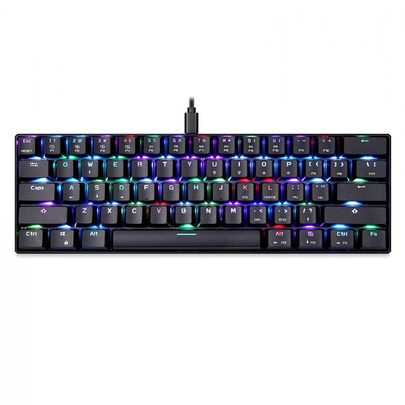 MOTOSPEED CK61 NKRO RGB Mechanical Keyboard with Kailh BOX Switch(Dustproof)
